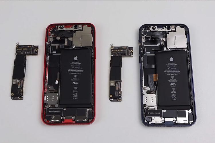 IPhone không có khe thẻ nhớ nhằm tiết kiệm không gian bên trong của điện thoại