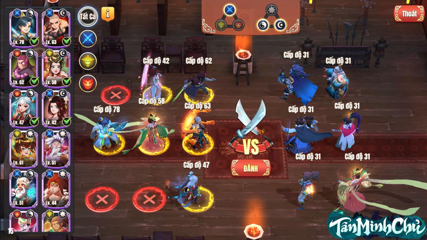 4 hoạt động trọng yếu nhất trong tựa game đình đám trong Tân Minh Chủ