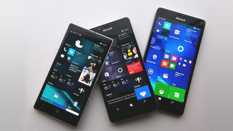 Hệ điều hành di động Windows 10 Mobile ra mắt năm 2010.