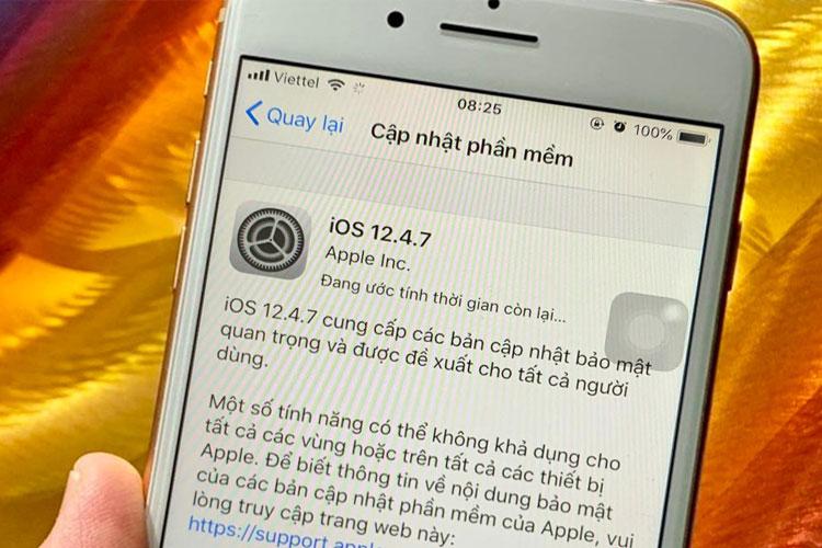 Cập nhập lại iOS để sửa lỗi điểm truy cập cá nhân