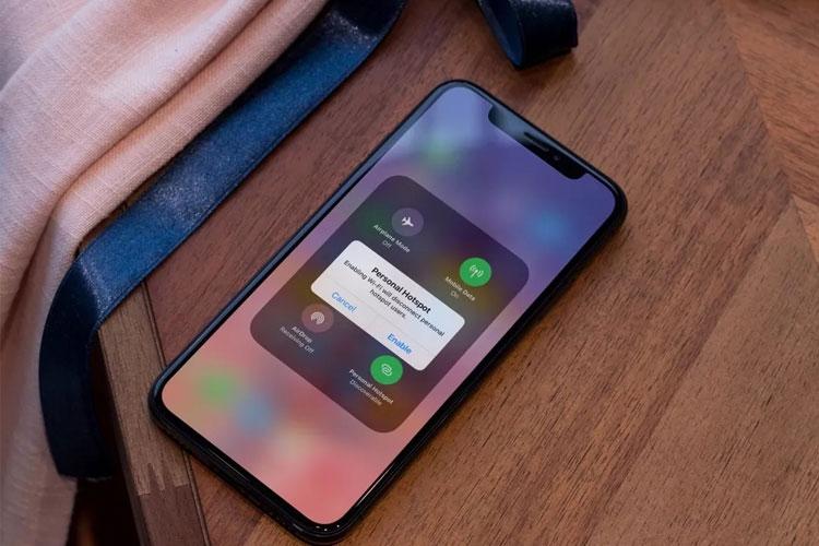 Điện thoại iPhone không thể chia sẻ mạng cho người khác phải làm sao