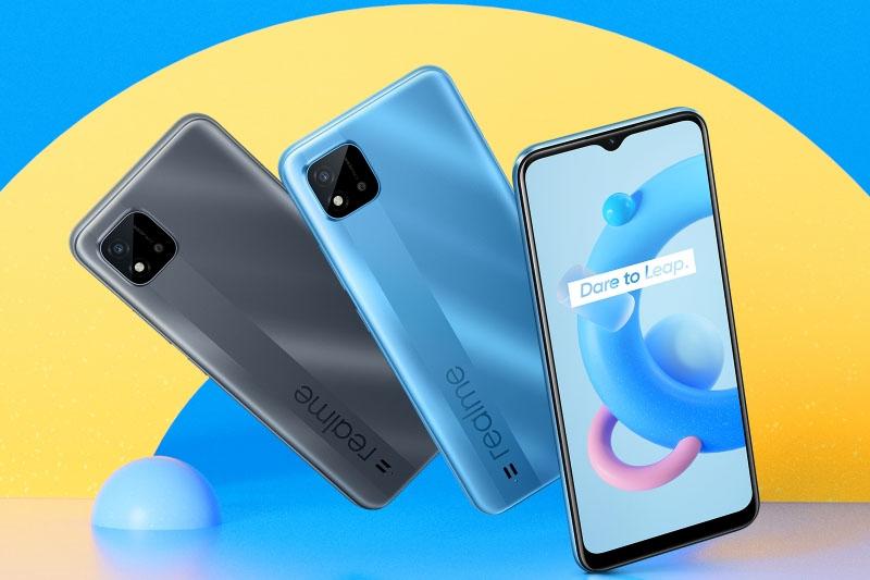 Điện thoại Android Realme C20 tích hợp nhiều tính năng.