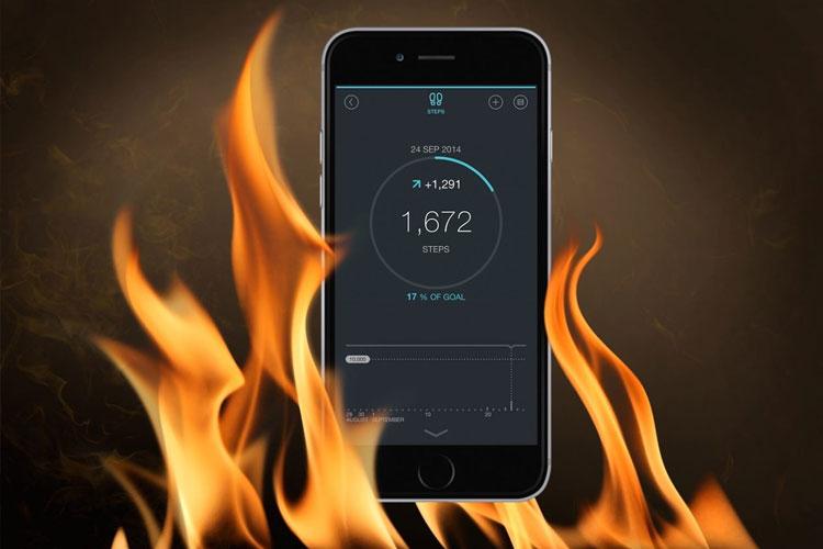Làm sao khi máy iPhone bị nóng và hao pin quá nhanh