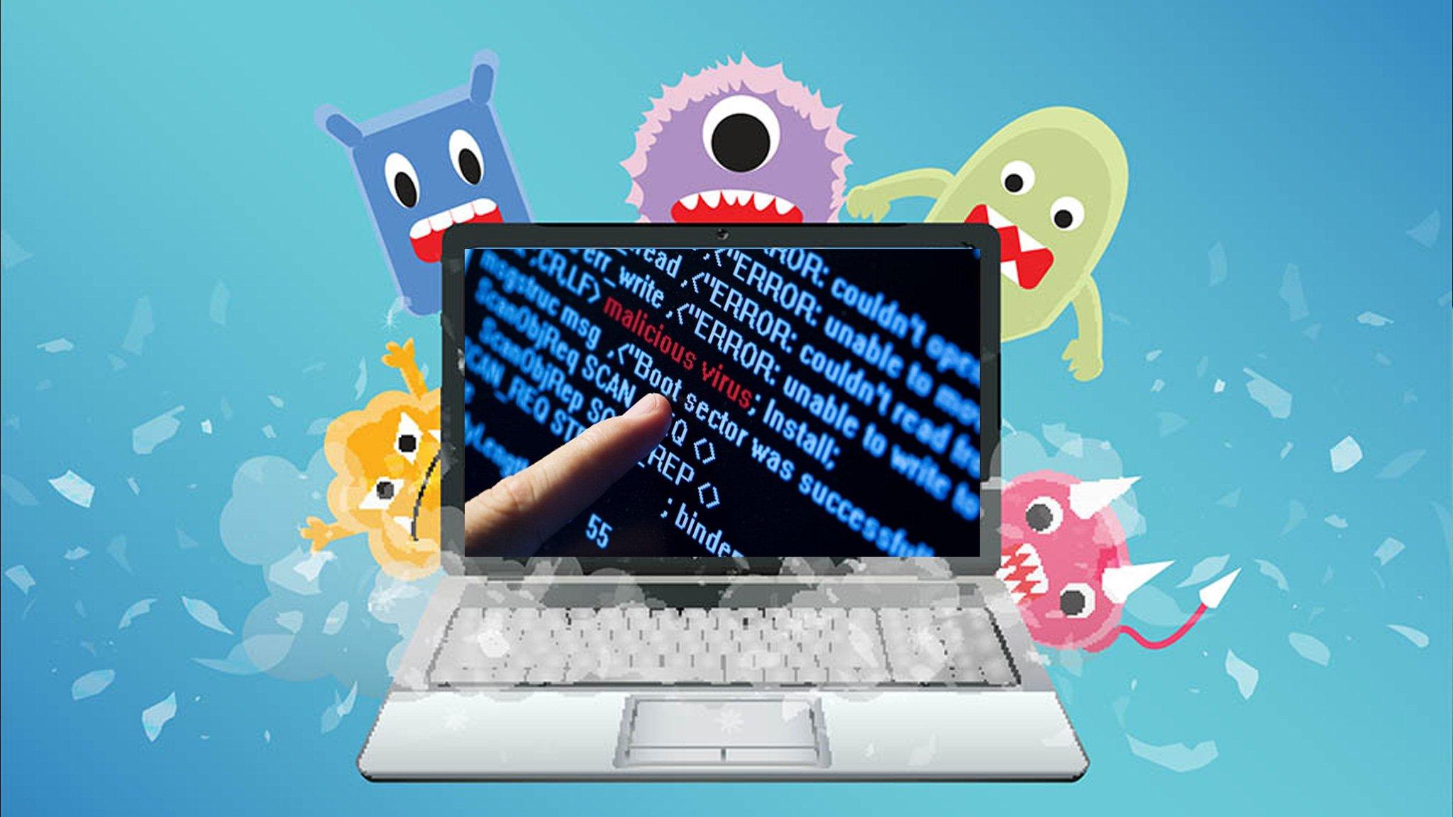 Nhiễm virus là một trong những nguyên nhân chính khiến máy bị treo