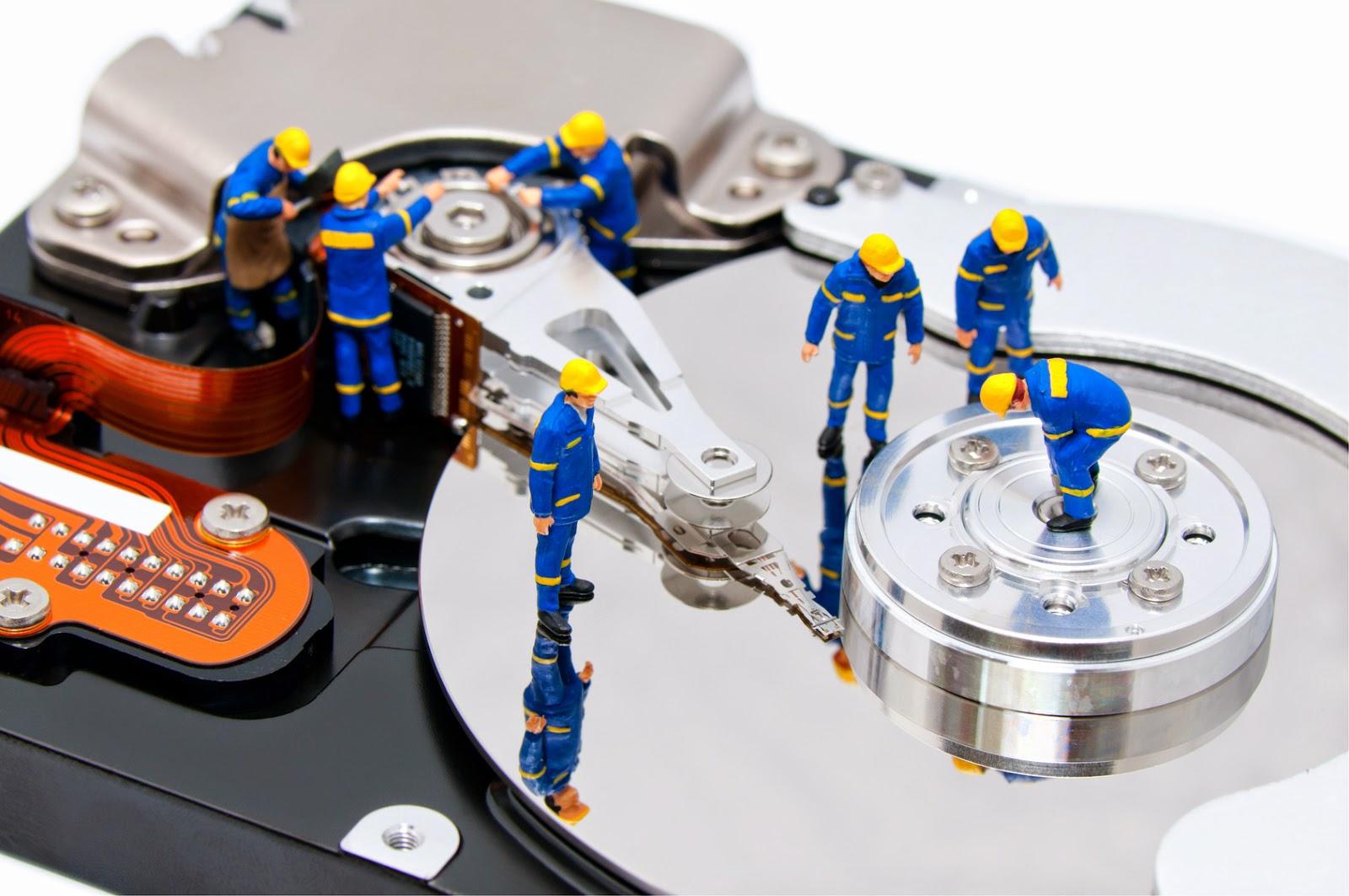 Ổ cứng bị phân mảnh cũng là lí do khiến cho máy tính bị đơ, treo