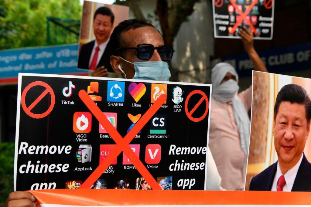 Các ứng dụng của Trung Quốc bị xoá bỏ tại Ấn Độ