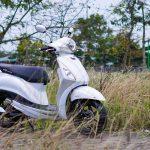 Yamaha Grande Hybrid sinh ra dành cho các cô gái yêu công nghệ